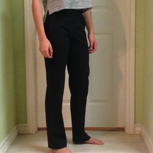 Theory wool blend black pants